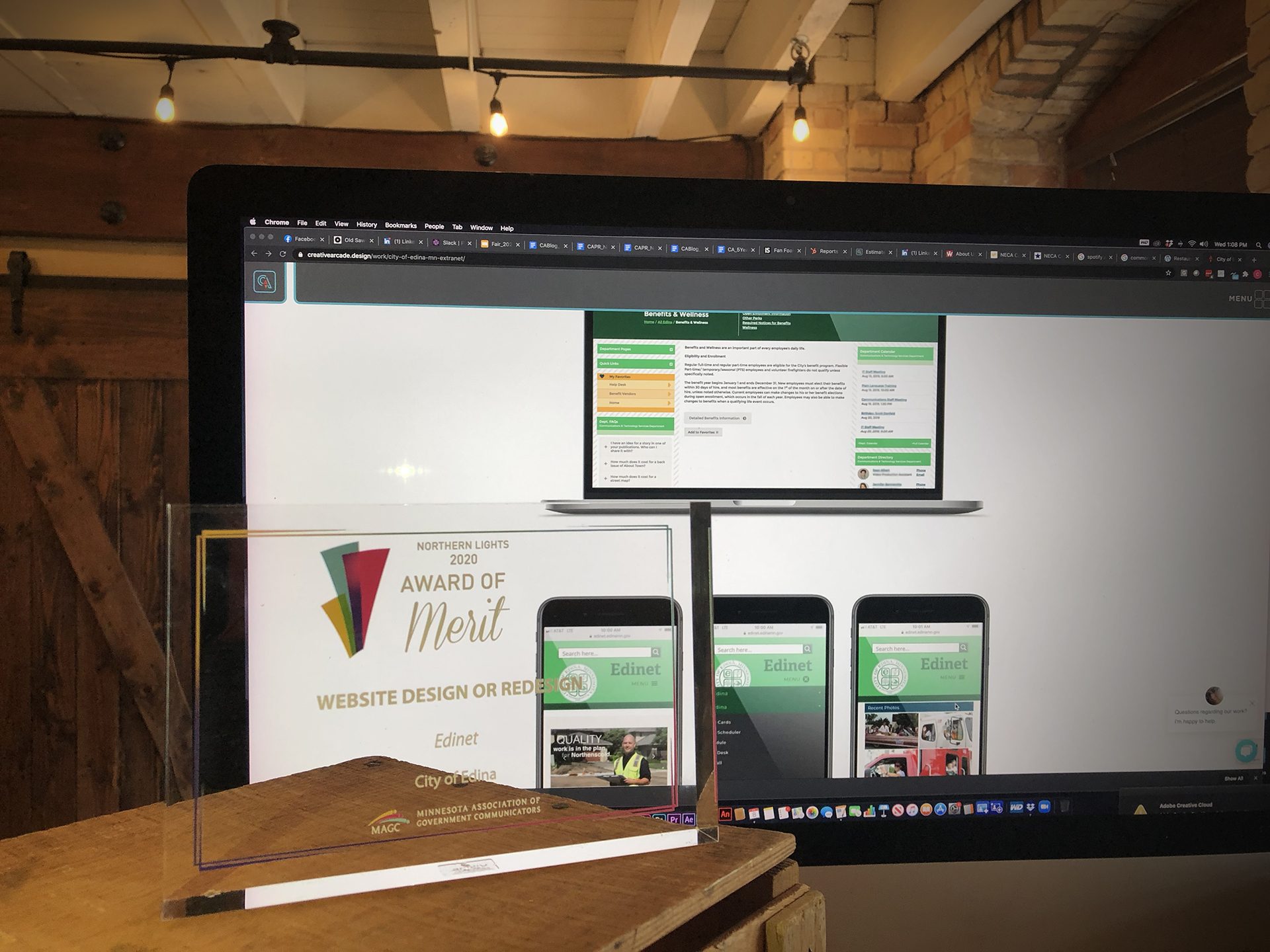 Creative Arcade Website Wins Northern Lights Award Featured Image