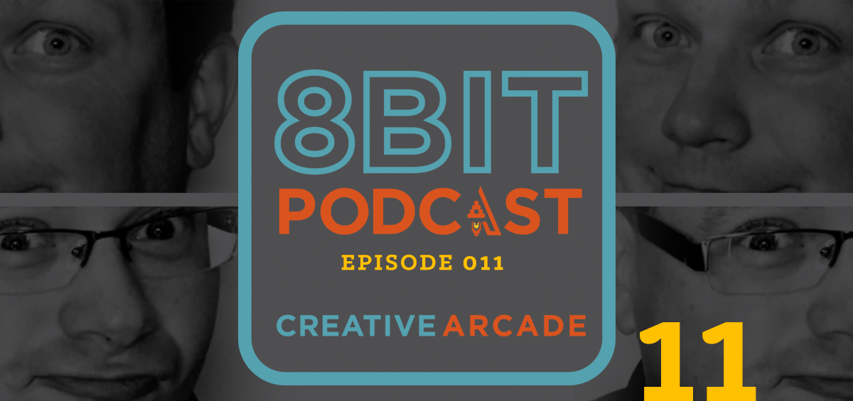 The 8Bit Podcast Episode 11 - Brand Identity Featured Image