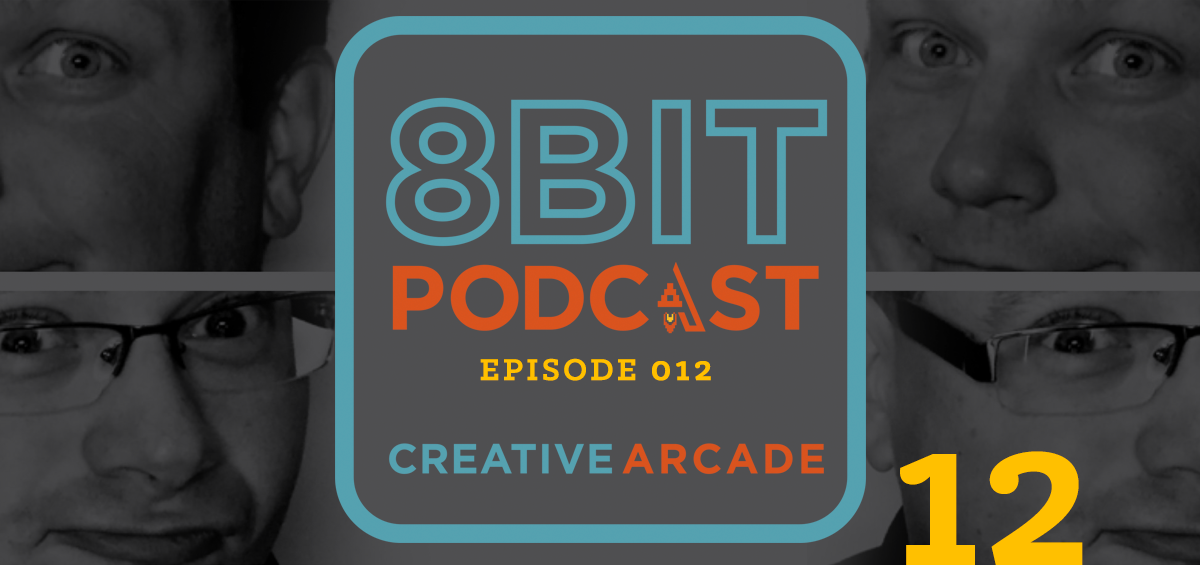 The 8Bit Podcast Episode 12 - Website Change Featured Image